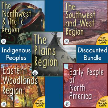 Native Americans Interactive Notebook Bundle