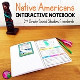 Native Americans Interactive Notebook for 2nd Grade Social Studies