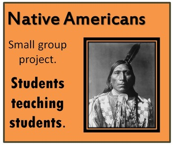Native Americans Interactive PowerPoint Template- Great small group activity