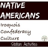 Native Americans Iroquois Confederacy Culture Station Activities