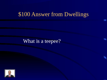 Native Americans Jeopardy Review Game