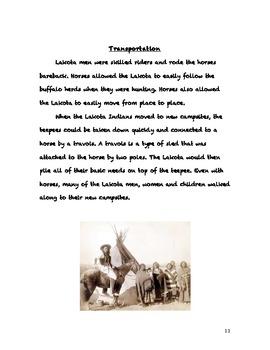 Native Americans-Lakota Unit