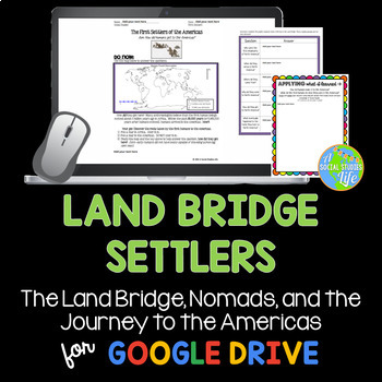 Native Americans - Land Bridge and the First Settlers of the Americas