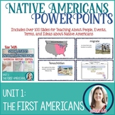 Native Americans Lesson PowerPoints