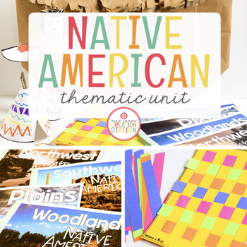 NATIVE AMERICAN INDIANS THEMATIC UNIT