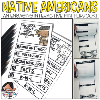 Native Americans Mini-Flip