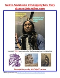 Native Americans - Misconceptions, Research and Project