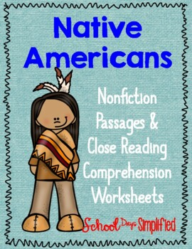 Close Reading About Native Americans