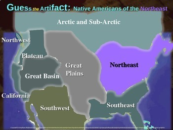 "Native Americans (Northeast) ""Guess the artifact"" game: PPT w pictures & clues"