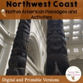 Native Americans:  Northwest Coast Lessons, Activities and Pop Up Book