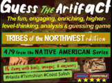 """Native Americans (Northwest) """"Guess the artifact"""" game: PPT w pictures & clues"""