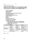 Native Americans One Pager