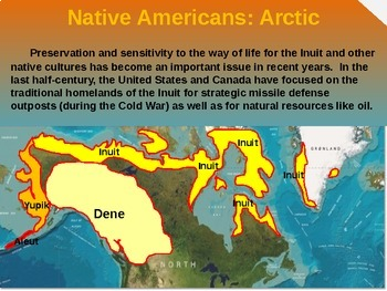 Native Americans (PART 2: ARCTIC) visual, textual, engaging 200-slide PPT