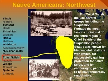 Native Americans (PART 9: NORTHWEST) visual, textual, engaging 200-slide PPT