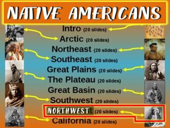 Native Americans (PART 9: NORTHWEST) visual, textual, enga