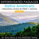 Native Americans Passages - Print & Interactive Digital