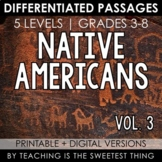 Native Americans: Passages (Vol. 3)