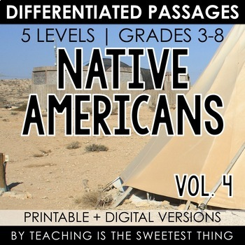 Native Americans: Passages (Vol. 4)