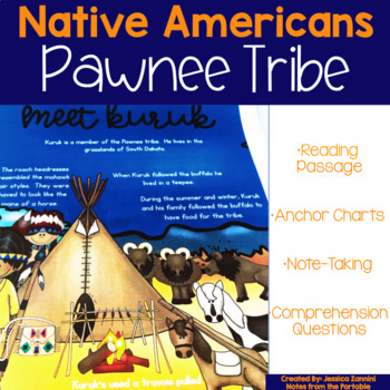 Native Americans Pawnee Tribe