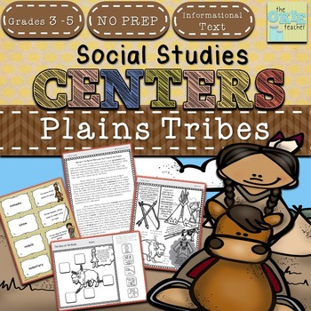 Native Americans: Plains Tribes Centers