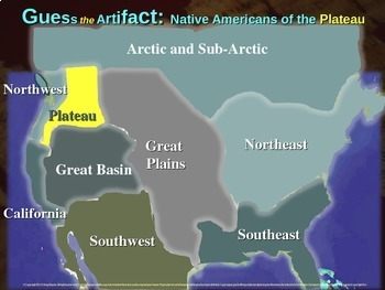 "Native Americans (Plateau) ""Guess the artifact"" game: PPT w pictures & clues"