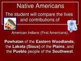Native American's Power Point