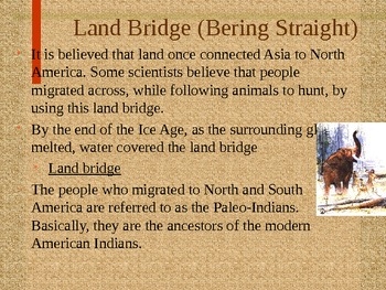 Native Americans PowerPoint GPS