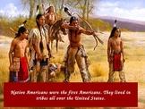 Native Americans PowerPoint (Sioux, Powhatan, Pueblo)