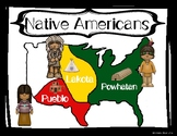 2nd Grade - Native American Indian Posters - Powhatan, Lakota, Pueblo