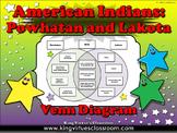 Native Americans: Powhatan and Lakota EK #1 - First Americans Venn Diagram