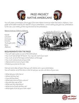 Native Americans Prezi Project