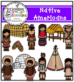 Native Americans (The Price of Teaching Clipart Set)