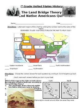 Native Americans Quiz