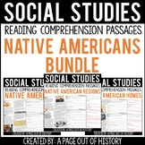 Native Americans Reading Comprehension Passage Bundle (Soc