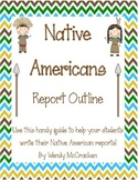 Native Americans Report:  Outline for projects
