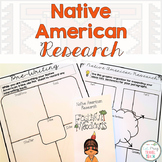 Native Americans Research and Informative Writing