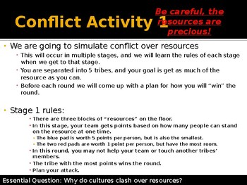 Native Americans - Resource Conflicts