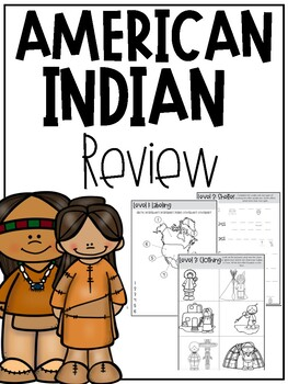 3rd Grade Native Americans Review