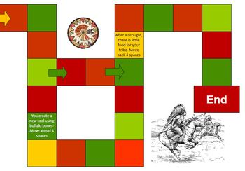 Native Americans Review Board Game