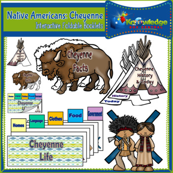 Native Americans: Sioux - Interactive Foldable Booklet - EBOOK