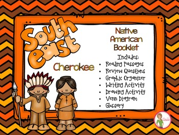 Native Americans - Southeast Cherokee Booklet