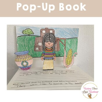 Native Americans: Southwest Coast Lessons, Activities and Pop Up Book
