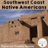Native Americans: Southwest Coast Lessons, Activities and