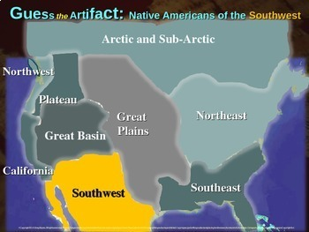 "Native Americans (Southwest) ""Guess the artifact"" game: PPT w pictures & clues"