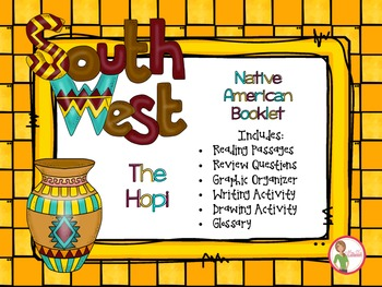 Native Americans - Southwest HOPI Booklet