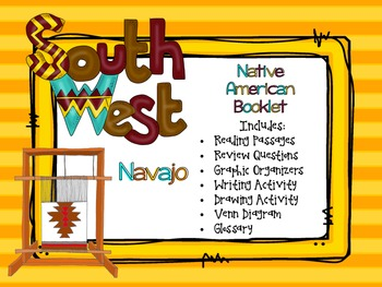 Native Americans - Southwest Navajo Booklet