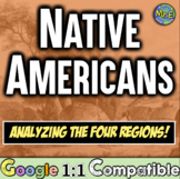 Native Americans: Students Jigsaw the Four Tribal Regions of North America!