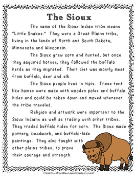 Native American Tribes - Set 2