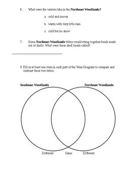 Unit 2 Native Americans Study Guide/Quizzes Florida Social Studies McGraw-Hill