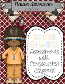 Social Studies - Native American Indians Test (Assessment)